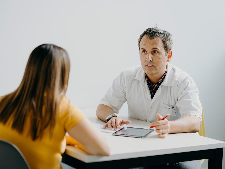Konsultation in der Apotheke