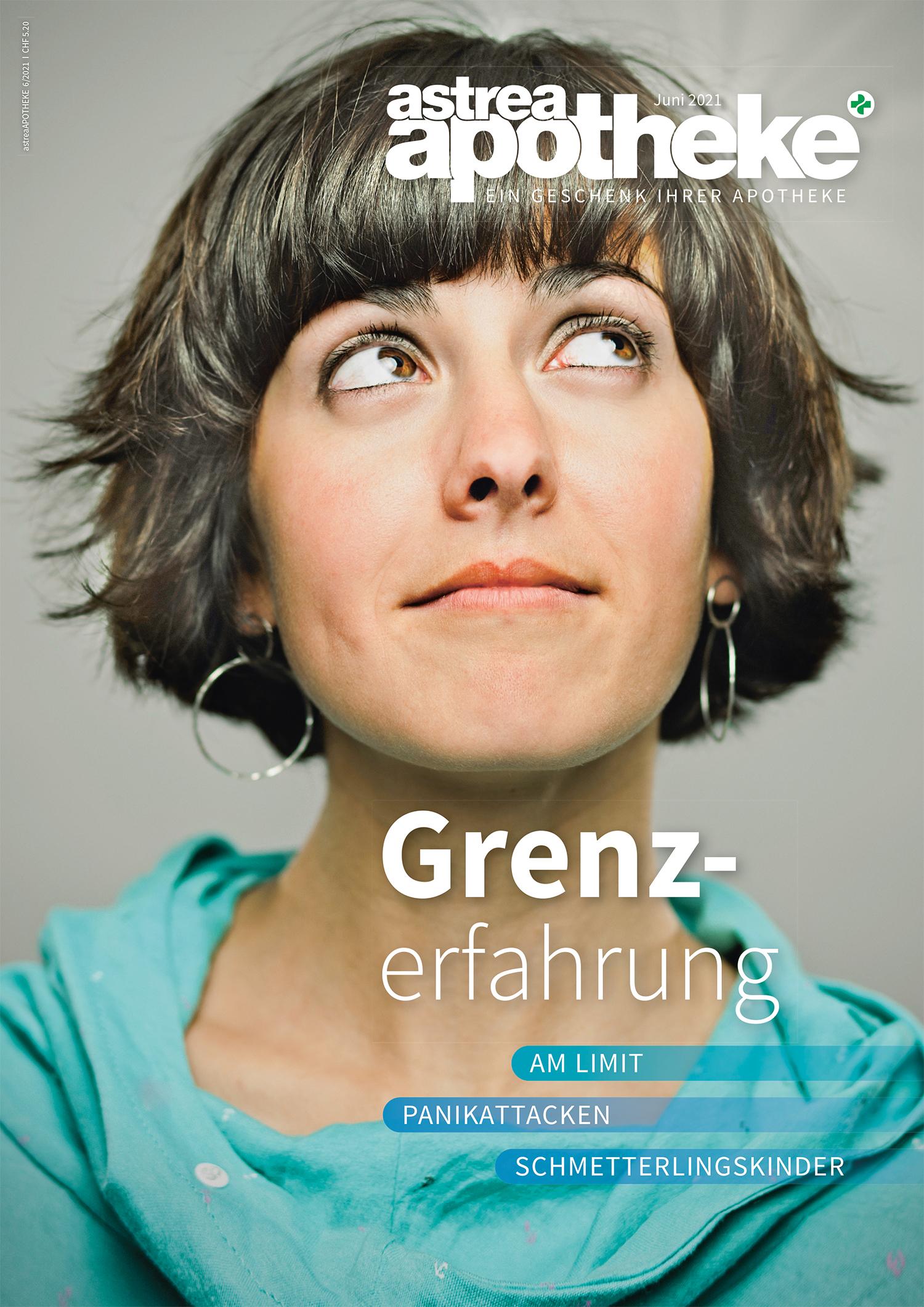 Cover astreaApotheke Juni 2021